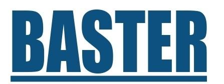 BASTER Limpieza técnica de partículas y desengrase Tensión Superficial Logo